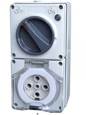 IP66 56CV540 Clipsal Switched Socket Outlets