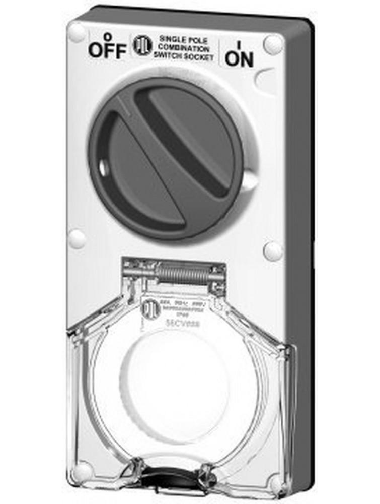 56CV310 Clipsal Switched Socket Outlets