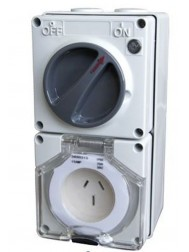 56CV315 Clipsal Switched Socket Outlets