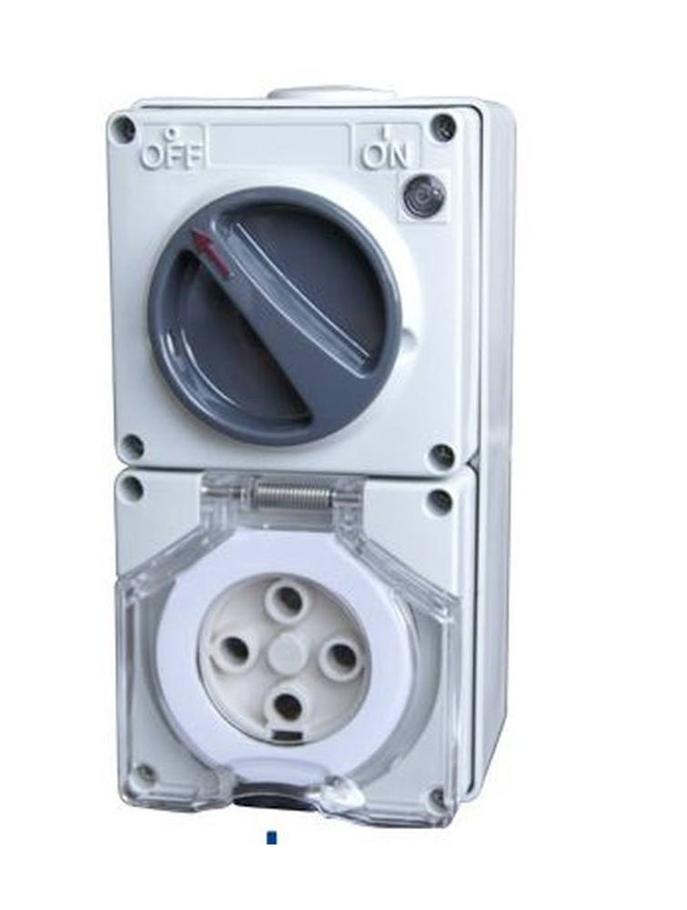 56CV432 Clipsal IP66 Switched Socket Outlets